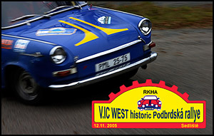 V. IC WEST historic Podbrdská rallye
